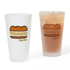 philly cheese steak Drinking Glass