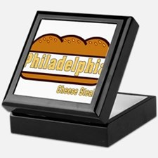 philly cheese steak Keepsake Box