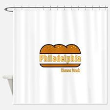 philly cheese steak Shower Curtain