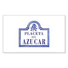 Placeta del Azúcar, Granada - Spain Decal