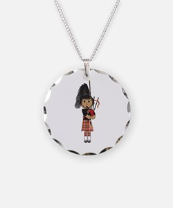 Bagpiper Necklace