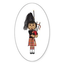 Bagpiper Decal