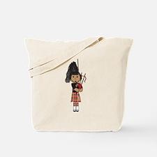 Bagpiper Tote Bag