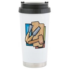 Unique Wood carvings Travel Mug