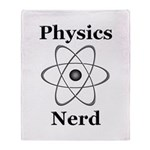 Physics Nerd Throw Blanket