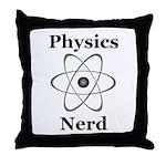 Physics Nerd Throw Pillow