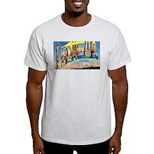 Tacoma Washington Greetings (Front) T-Shirt