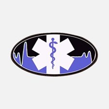 Blue Emergency Medical Patches