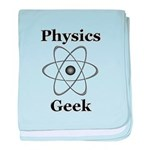 Physics Geek baby blanket