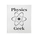 Physics Geek Throw Blanket