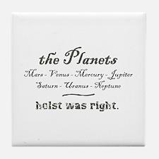 thePlanets Tile Coaster