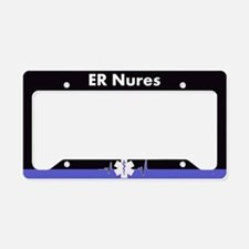 Er Nurse License Plate Holder