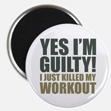 Yes I'm Guilty! Magnet