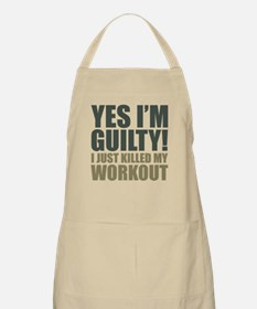 Yes I'm Guilty! Apron