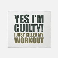 Yes I'm Guilty! Stadium Blanket