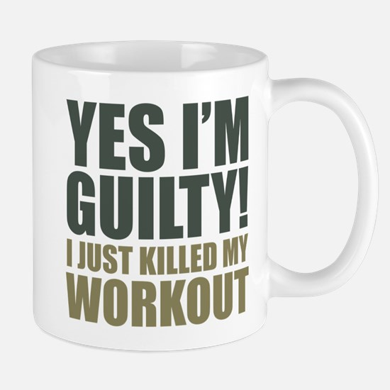 Yes I'm Guilty! Mug