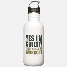 Yes I'm Guilty! Water Bottle