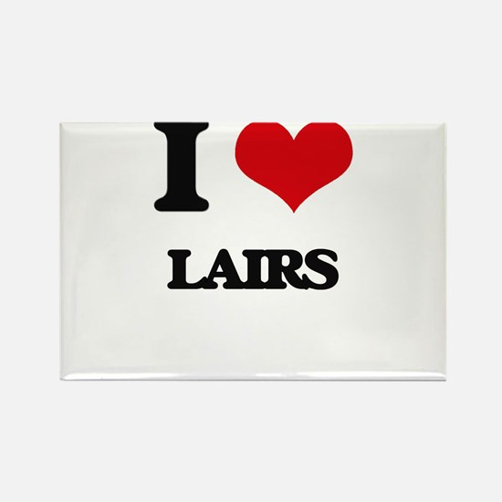 I Love Lairs Magnets