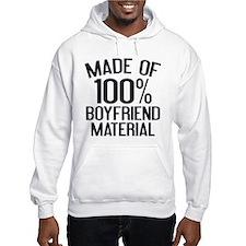 Made Of 100% Boyfriend Material Hoodie
