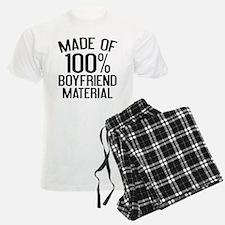 Made Of 100% Boyfriend Material Pajamas