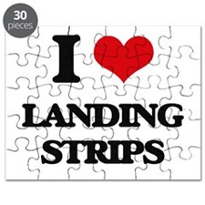 I Love Landing Strips Puzzle