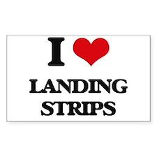 I Love Landing Strips Decal