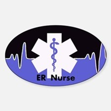 ER Nurse Decal