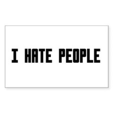 i hate People Decal