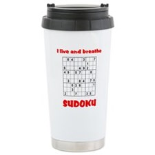 Cute Sudoku Travel Mug