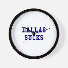 Dallas Sucks Wall Clock