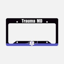 Trauma Md License Plate Holder