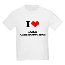 I Love Large Scale Productions T-Shirt