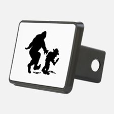 Sasquatch hiker silhouette Hitch Cover