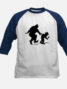 Sasquatch hiker silhouette Tee