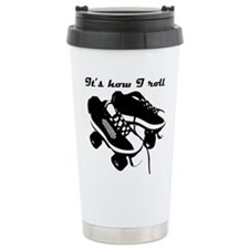 Cute Roller skating Travel Mug