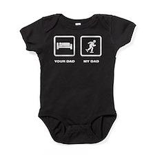 Unique Rollerskates Baby Bodysuit