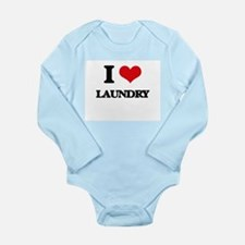 I Love Laundry Body Suit