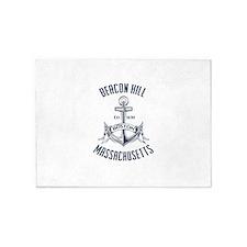 Beacon Hill, Boston MA 5'x7'Area Rug