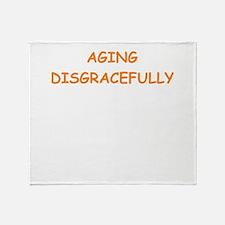 aging Throw Blanket