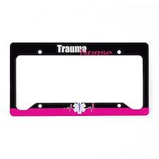 Trauma Nurse License Plate Holder