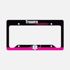 Trauma Nurse License Plate Holder