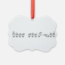 BEst Teacher Ornament