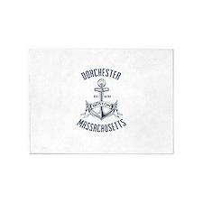 Dorchester, Boston MA 5'x7'Area Rug