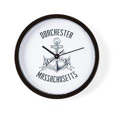 Dorchester, Boston MA Wall Clock