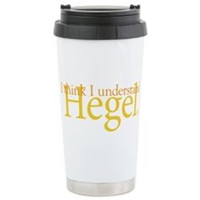 Cute Hegel Travel Mug
