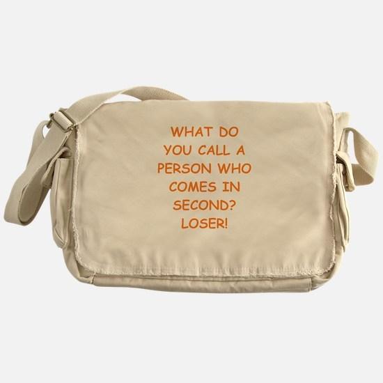 second place Messenger Bag