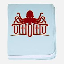 Lovecraft - Cthulhu Logo baby blanket