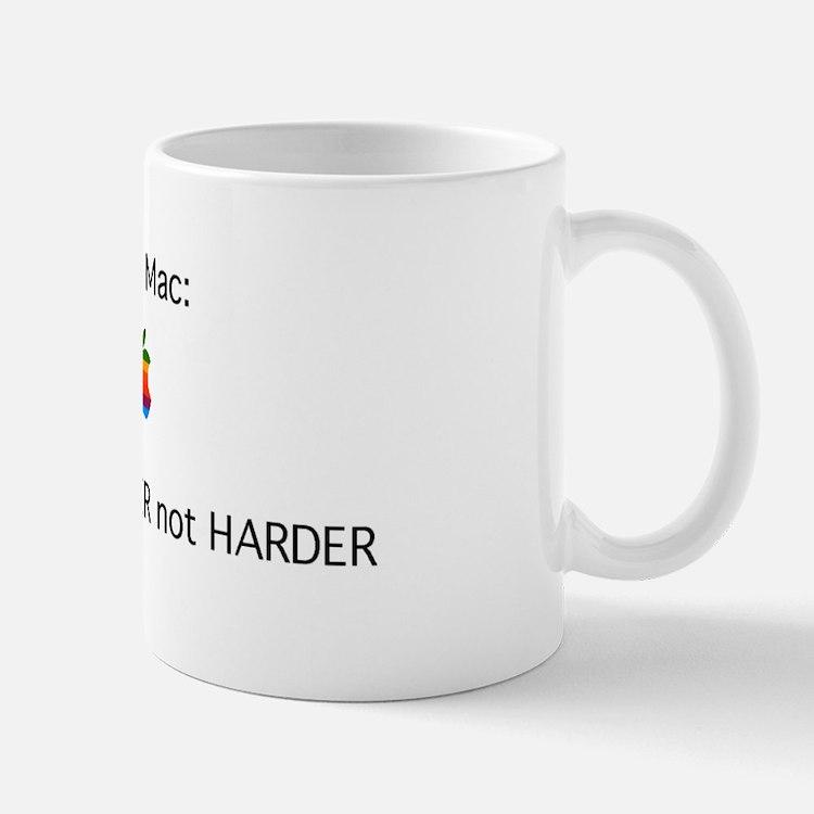 Cute Apple computer Mug