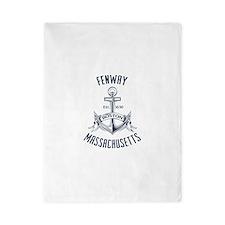 Fenway, Boston MA Twin Duvet