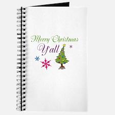 Merry Christmas Yall Journal